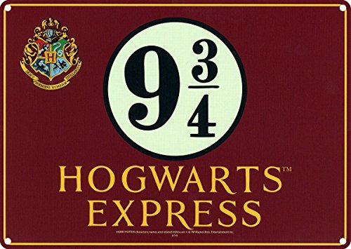 Tin Sign Small Harry Potter Hogwarts Exp