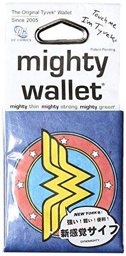 Dynomighty - Mighty Wallet - Geldbörse aus Tyvek - DC Comics Wonder Woman (Kraft Origami-papier)