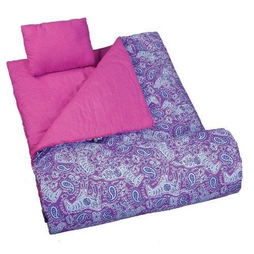 wildkin-watercolor-ponies-purple-original-sleeping-bag-by-wildkin