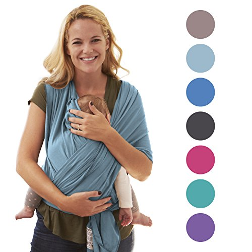 Fular portabebés 5-en-1 para recién nacidos | El regalo perfecto para madre y padre | Invierno 2017 | Diseñado en Berlín y Londres