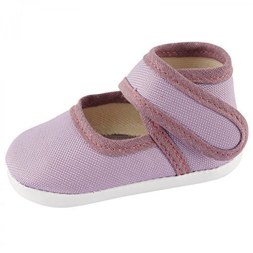 Scarpe per gattonare Baby scarpe per gattonare Babyschuhe Ragazze Ragazzi BS117 - lilla 1, 12cm