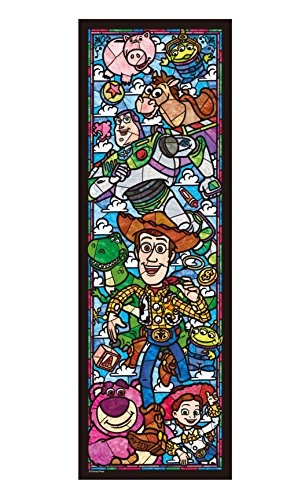 Disney Stained 456 Pisutoi Story Stained Glass Dsg-456-719 Tightly (Stained Glass Puzzle Disney)