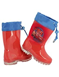 Cars  Con Luci Al Led, Jungen Stiefel rot rot