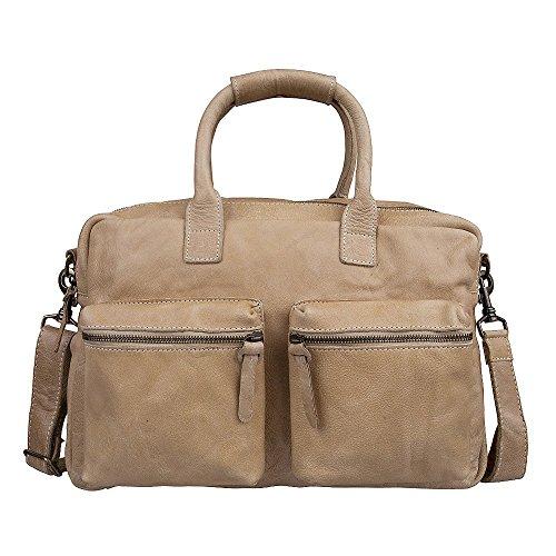 Cowboysbag Damen The Bag - sand, Au naturel (Braun), Breite ca. 41 cm, Höhe ca. 28 cm, Tiefe ca. 17 cm