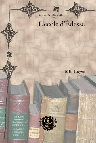 L'ecole d'Edesse
