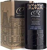 Cioccolata Calda Caramello Salato - Bere Cioccolata Calda Fondente Artigianale, 40% di Cacao, Barattolo da 170g