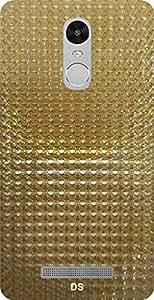 Dragon Shield' Xiaomi Redmi Note 3 GOLD Back Cover ( Diamond Cover )