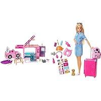 Barbie Camper Dei Sogni 3 In 1, Playset Con 3 Veicoli E 50 Accessori, Giocattolo Per Bambini 3+ Anni & In Viaggio…