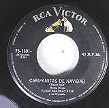 PABLO BELTRAN RUIZ 45 RPM CAMPANITAS DE NAVIDAD / DESAFINADO