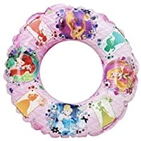 New Disney Princess Inflatable Childrens Kids Swim Ring Swimming Pool Summer Beach Float Toy