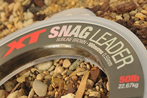 Korda XT Snag Leader 100m 0,55mm 50lb SNAG50 Schlagschnur Line Schlag Schnur -