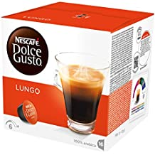 Nescaf Dolce Gusto - Lungo - 3 Paquetes de 16 Cpsulas - Total: 48 Cpsulas