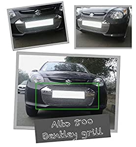 Auto Pearl - Premium Quality Chrome Plated Front Grill For - Alto 800