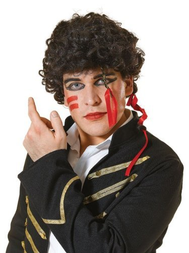 Adam Ant Wig with make-up
