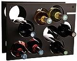 L'Atelier du Vin 095220-9 Flaschenregal City Rack schwarz