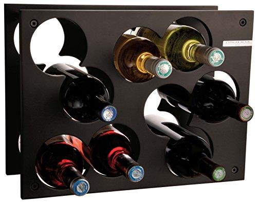 L'Atelier du Vin 095220-9 Flaschenregal City Rack schwarz -