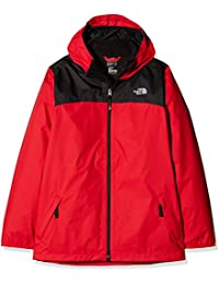 North Face B Elden Rain Triclimate Chaqueta, Niños, Rojo (Tnf Red), M