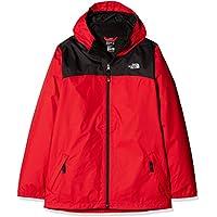 North Face B Elden Rain Triclimate Chaqueta, niños, Rojo (TNF Red), L