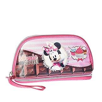 Karactermania Minnie Mouse Sweet Cake Bolsa de Aseo, 24 cm, Rosa