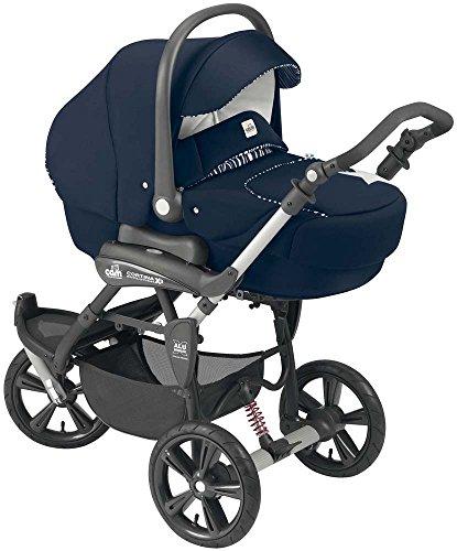 Cam Il Mondo Del Bambino ART891 Cortina X3 Tris Evolution Sistema Modulare Trio, Blu