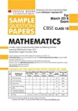 #2: Oswaal CBSE Sample Question Papers Class 10 Maths (Mar. 2018 Exam)