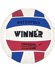 Mega Sport Winner Water Polo Ball. Red-White-Blue design. Size 5