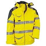 Cofra Warnschutz Winterjacke 4-in-1 Protection V024-0-00, Wetterschutzjacke, Große 56, 40-00V02400-56