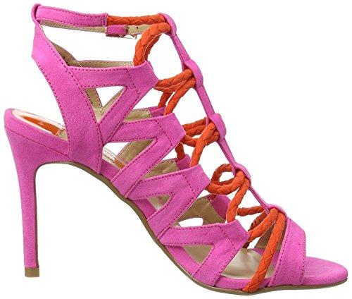 Dorothy Perkins Damen Stunned Sandalen mit Absatz Pink (Pink)