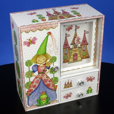 Princess Castle Musical Jewelry Box by San Francisco Music Box by San Francisco Music Box