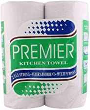 Premier Kitchen Towel, Pack of 4, 60 Count Pouch with FunFoil, 9 m