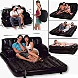 Comfort Quest Air Lounge Inflatable Sofa Cum Bed Seat-baby Nap B