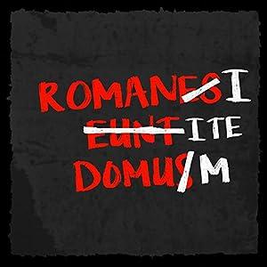 how about tee? - Romanes Eunt Domus - Romani Ite Domum - stylischer Kühlschrank Magnet mit lustigem Spruch-Motiv - zur Dekoration oder als Geschenk