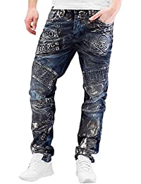 Cipo & Baxx Homme Jeans / Jeans Straight Fit Skull