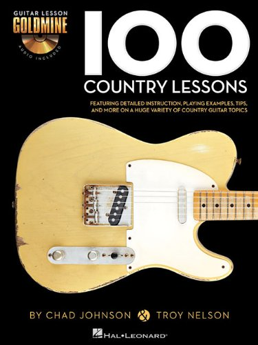 100 country lessons guitare+2cds (Guitar Lesson Goldmine)