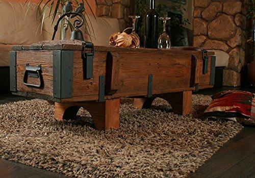 EIGENEN Design Antik Rustikal Couchtisch Kommode kiefer Holz Trunk Blanket Box Vintage Cottage