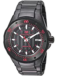 Technomarine Men's 'Manta' Automatic Stainless Steel Casual Watch, Color:Black (Model: TM-215097)
