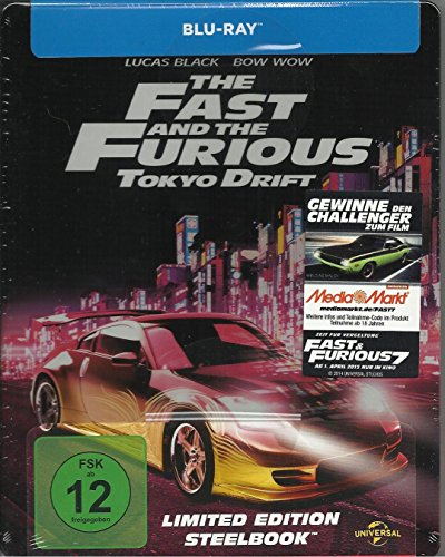 Bild von The Fast and the Furious: Tokyo Drift (Limited Edition Steelbook) [Blu-ray]