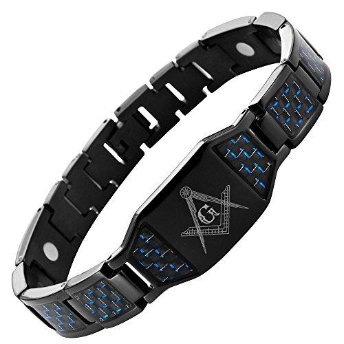 masonicman-nero-con-simbolo-massonico-in-titanio-da-uomo-inserti-in-fibra-di-carbonio-con-attrezzo-p