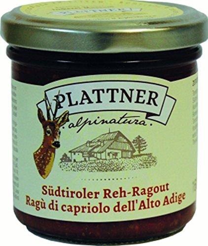 Ragù di Capriolo dell' Alto Adige 160 gr. - Alpinatura - Plattner