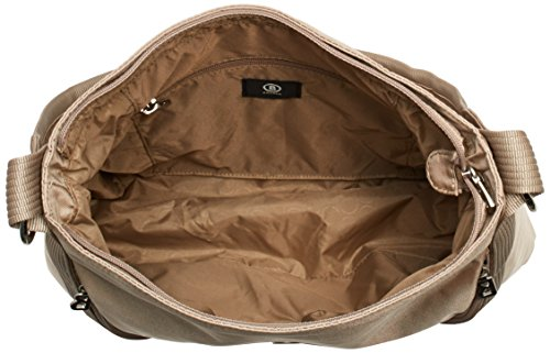 Bogner Leather - LAIS, Borse a Tracolla Donna Beige (Beige (macadamia 362))