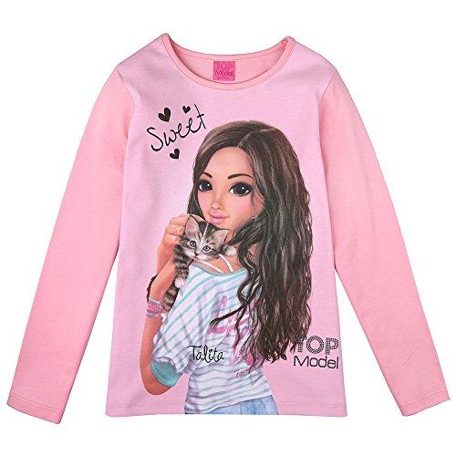 Top Model Mädchen Langarm Shirt Talita 85032 Rosa (152)