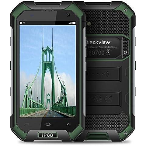 Blackview BV6000 Impermeable Smartphone IP68 Gorila de vidrio 3 a prueba de golpes Android 6,0 3 GB RAM 32 GB Rom 4,7 pulgadas de teléfono móvil al aire libre