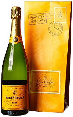 Veuve Clicquot Yellow Champagner Label Ice Letter Edition mit Geschenkverpackung (1 x 0.75 l)