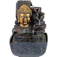 Zimmer Brunnen Set Mit Stromstecker Und Pumpe Buddha Kopf