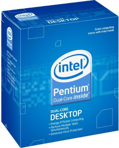 Intel Pentium Dual Core E5400 Prozessor Box (Sockel 775, 2,7GHz, 800MHz FSB, 45nm, 2MB L2-Cache)