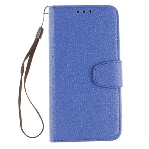 BONROY® Coque pour Nokia Lumia 640,Housse en cuir pour Nokia Lumia 640,imprimé étui en cuir PU Cuir Flip Magnétique Portefeuille Etui Housse de Protection Coque Étui Case Cover avec Stand Support Avec des Cartes de Crédit Slot et Fonction Support pour Nokia Lumia 640