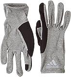 ADIDAS Erwachsene Climalite Handschuh, Core Heather/Black/Reflective Silver, M