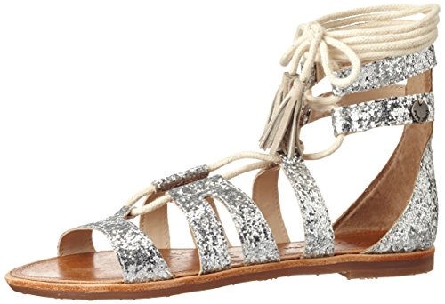 Pepe Jeans Arizona Lace, Sandales Plateforme Fille