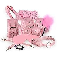 Stillshine Plüsch Leder Sex Werkzeuge Restraint System Fetisch Bondage Kit von 10 Stück (Rosa) preisvergleich bei billige-tabletten.eu