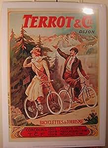 Terrot Et Cie - Bicyclettes De Tourisme - 50X70 Cm Affiche / Poster